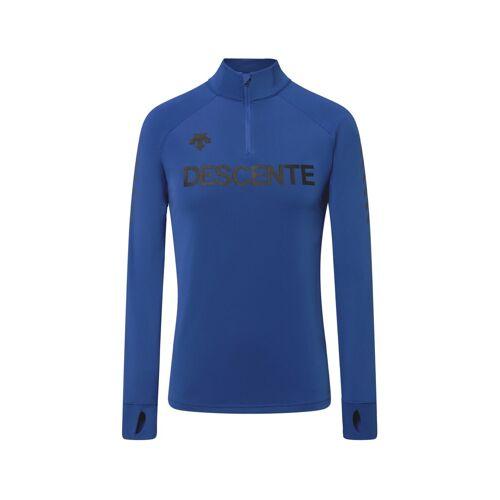 Descente M Descente 1/4 Zip T-Neck Blue Herren 50