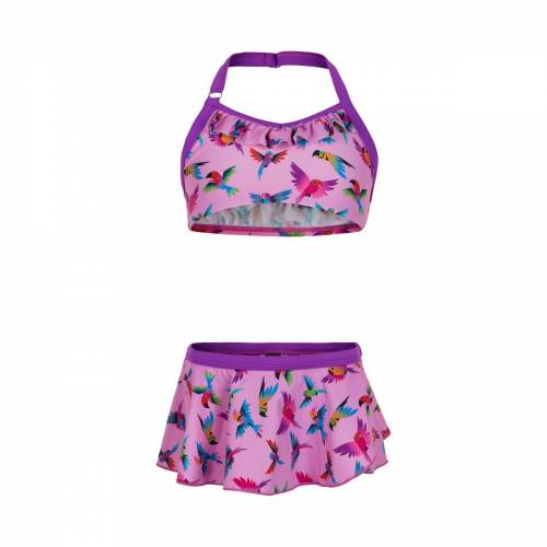 Color Kids Girls Bikini With Skirt Orchid Mädchen
