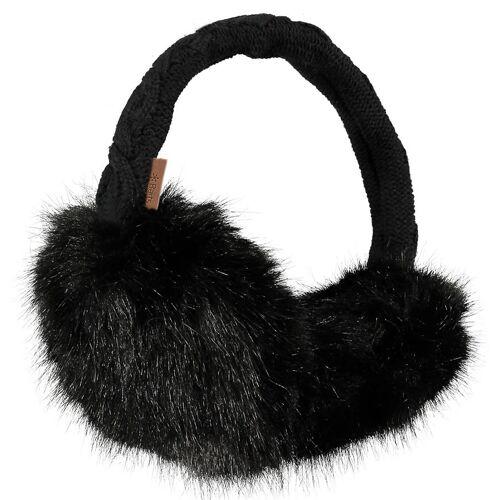Barts W Fur Earmuffs Black Damen One Size