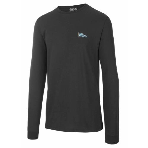 Picture M Buckaroo Long-Sleeve Tee Black Herren S