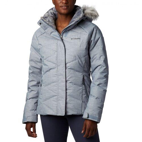 Columbia W Lay D Down II Jacket Tradewinds Grey Twill Print Damen S