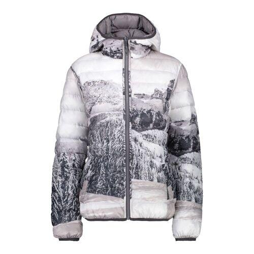 CMP W Jacket Reverse FIX Hood