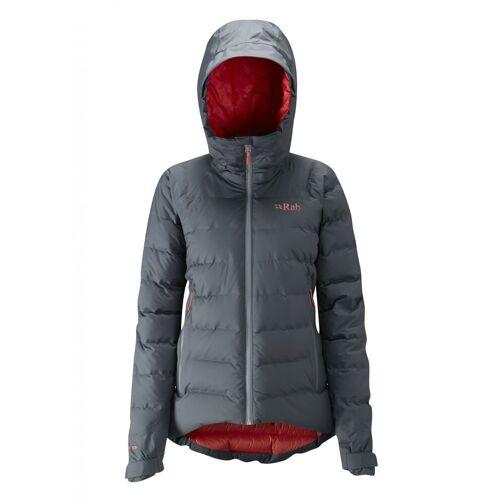 Rab W Valiance Jacket Steel - Passata Damen 16
