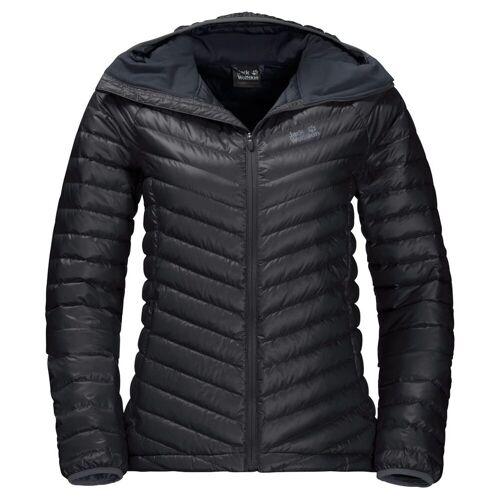 Jack Wolskin W Atmosphere Jacket Black Damen M