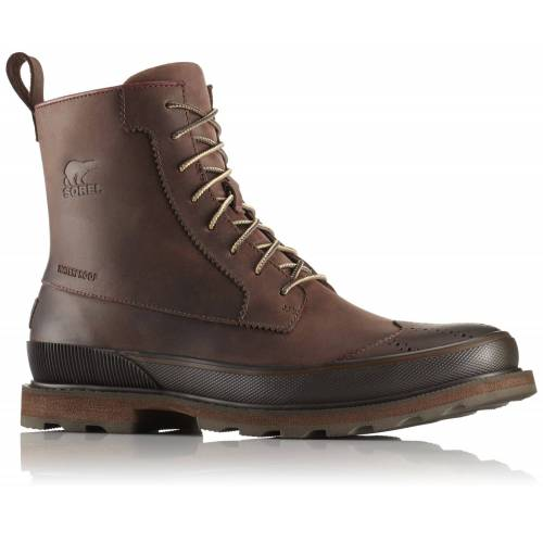 Sorel M Madson Wingtip Boot Waterproof