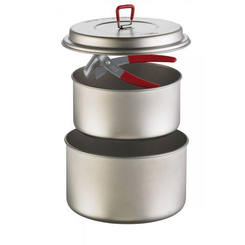 Titan MSR Titan 2 Pot Set Silver  One Size