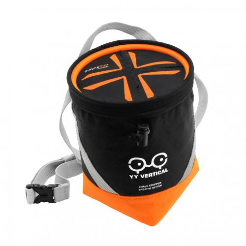 YY Vertical Chalkstopper Black - Orange Unisex One Size