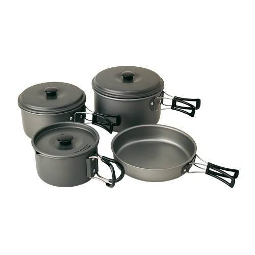 Campingaz Geschirrset Eloxiert Aluminium Grey  One Size