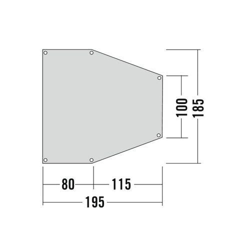 Tatonka Apsidenunterlage 3 Grey Unisex One Size