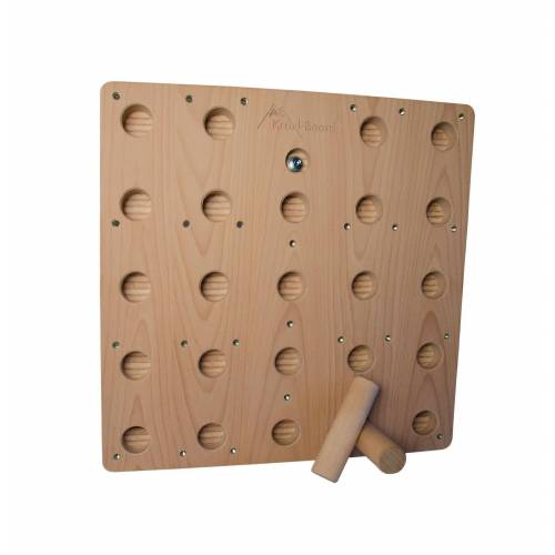 Kraxl-Board Kombi-Pegboard Fürs Kraxlboard Buchenholz Unisex One Size