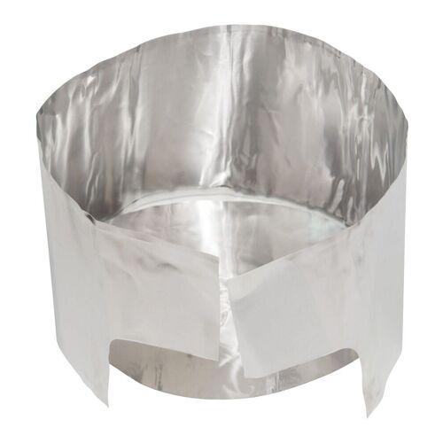 MSR Stabiler Wärmereflektor MIT Windschutz Silver  One Size