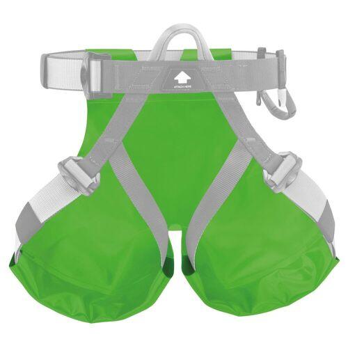 Petzl Schutzsitz für Canyon Gurte Grün Unisex One Size