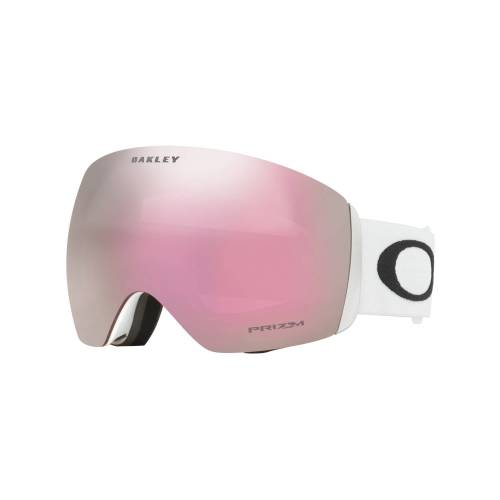 Oakley Flight Deck Prizm Iridium Matte White - Prizm Snow Hi Pink Iridium Unisex One Size