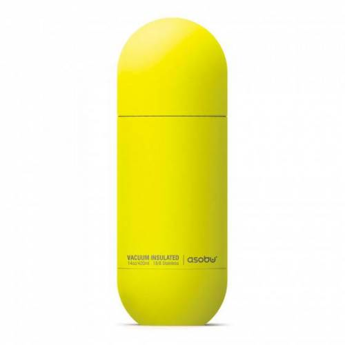 """Thermobecher Asobu """"Orb Yellow"""", 420 ml"""