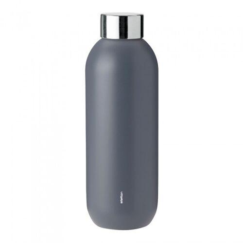 """Wasserflasche Stelton """"Keep Cool Granite Grey"""", 0,6 l"""