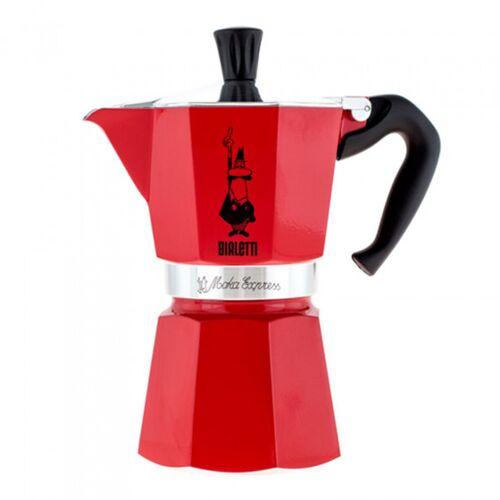 "Kaffeebereiter Bialetti ""Moka Express 6-cup Red"""