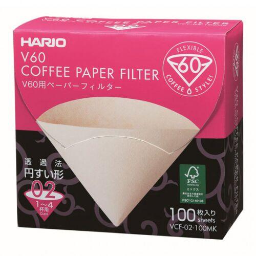 """Papierfilter Hario """"V60 02 MK"""", 100 Stk."""