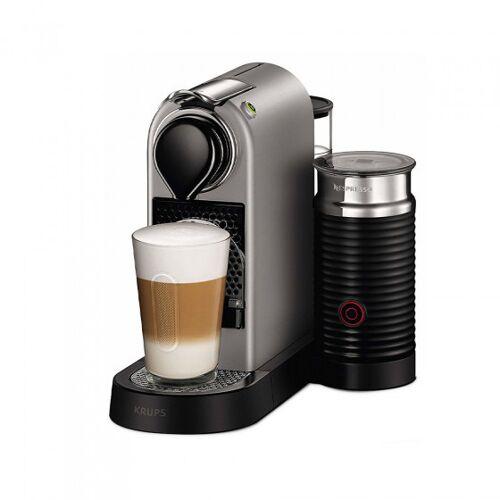 "Kaffeemaschine Nespresso ""Citiz & Milk Silver"""