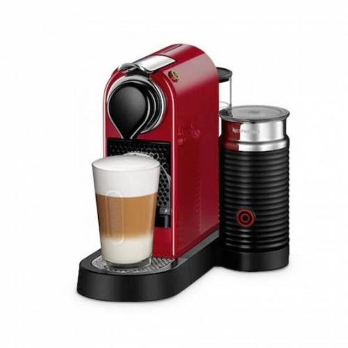 "Kaffeemaschine Nespresso ""Citiz & Milk Red"""