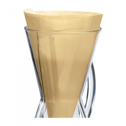 """Papierfilter """"3 Tassen"""", 100 Stk. (ungebleicht)"""