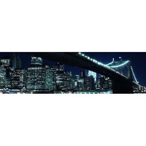 Papermoon Brooklyn Bridge Vlies Fototapete 350x100cm