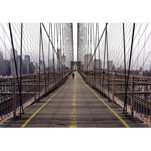 Papermoon Brooklyn Bridge Vlies Fototapete 350x260cm