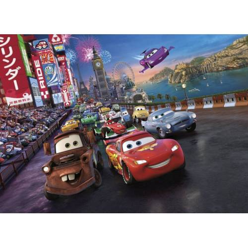 Komar Cars Race Fototapete 254x184cm