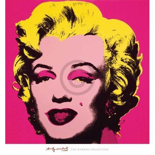 PGM Andy Warhol - Marilyn MonroeHot Pink Kunstdruck 65x70cm