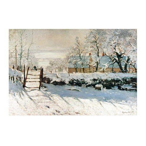 PGM Claude Monet - La pie Kunstdruck 70x50cm