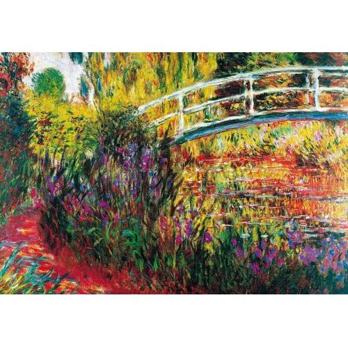 PGM Claude Monet - Le Pont Japonais Kunstdruck 100x70cm