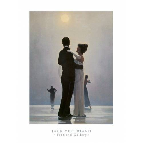 PGM Jack Vettriano - Dance Me to the End of Love Kunstdruck 60x80cm