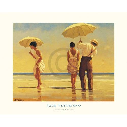PGM Jack Vettriano - Mad Dogs Kunstdruck 80x60cm