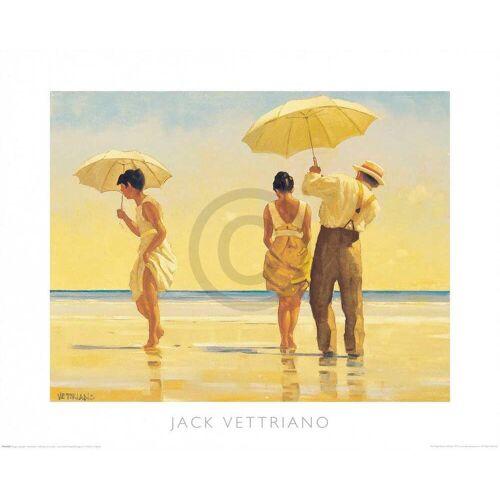 PGM Jack Vettriano - Mad Dogs Kunstdruck 50x40cm
