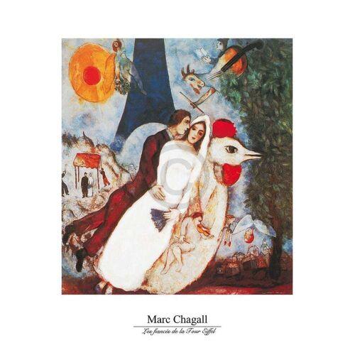 PGM Marc Chagall - Les fiances Kunstdruck 60x80cm