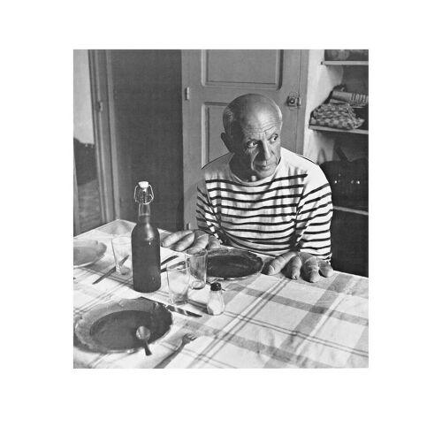 PGM Robert Doisneau - Les Pains de Picasso Kunstdruck 50x60cm