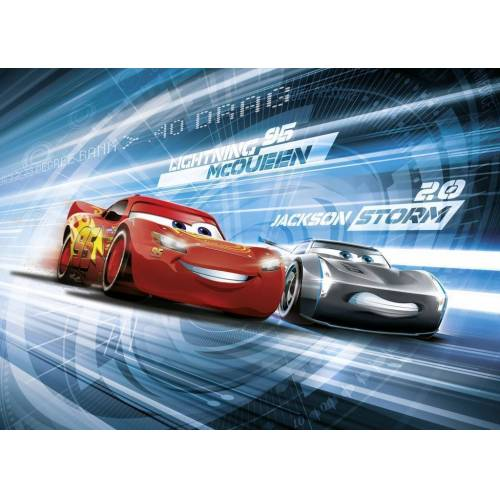 Komar Cars 3 Simulation Fototapete 254x184cm