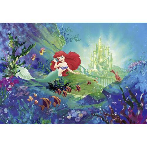 Komar Kleine Zeemeermin Ariel's Castle Fototapete 368x254cm