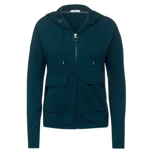cecil T-Shirt Jacke mit Taschen Grün  L M S XL XS XXL