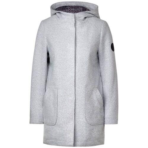 cecil Mantel in Woll-Optik Grau  XL M L XXL