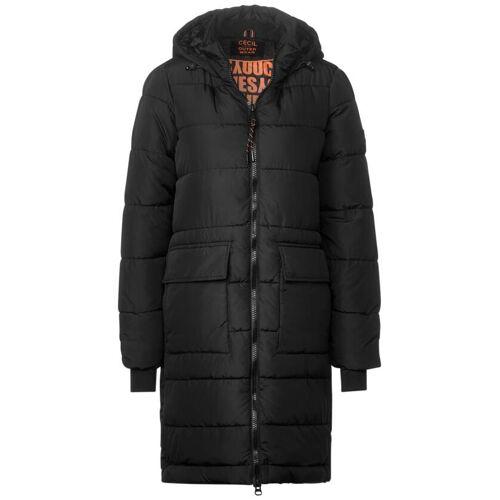 cecil Mantel mit warmem Futter Schwarz  L M S XL XS XXL