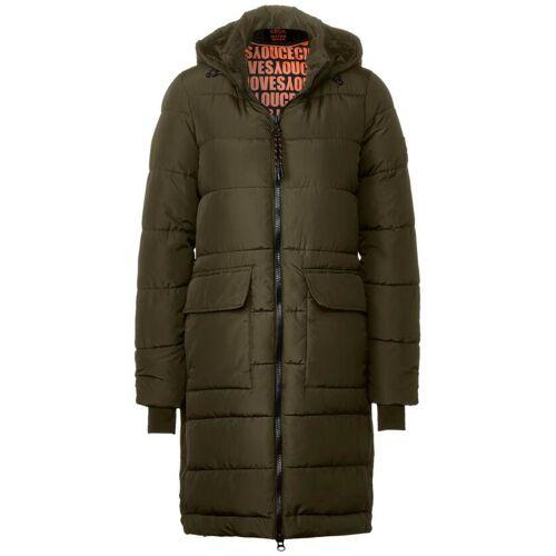 cecil Mantel mit warmem Futter Grün  L M S XL XS XXL