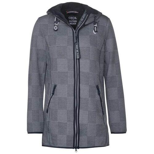 cecil Mantel mit Kapuze Blau  M S XL XS L XXL