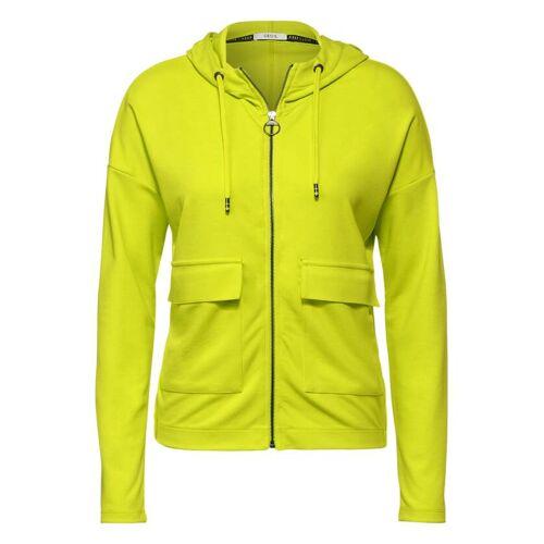 cecil T-Shirt Jacke mit Taschen Gelb  L M S XL XS XXL