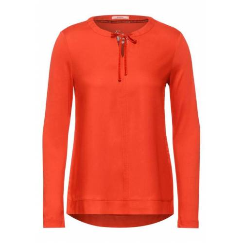 cecil Mat-Mix Bluse Orange  L M S XL XS XXL