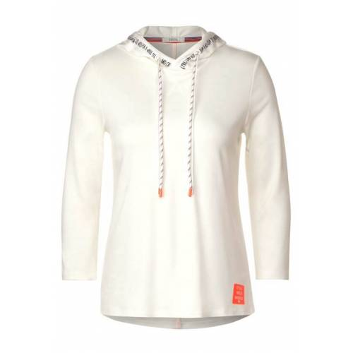 cecil Shirt mit Kapuze Weiß  L XL XS XXL