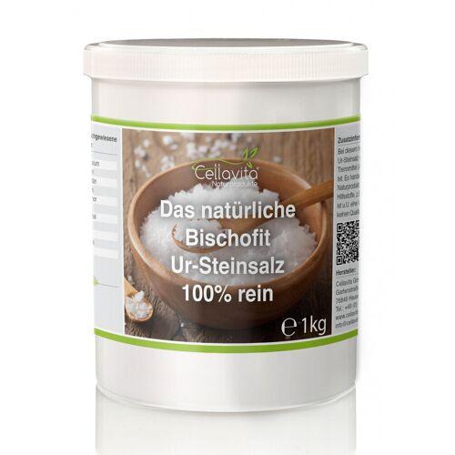 Cellavita Natürliches Bischofit Ur-Steinsalz 100% reines Salz 1kg