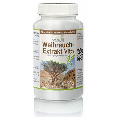 Cellavita Weihrauch-Extrakt Vita   50g Pulver (100 Tages-Vorrat)