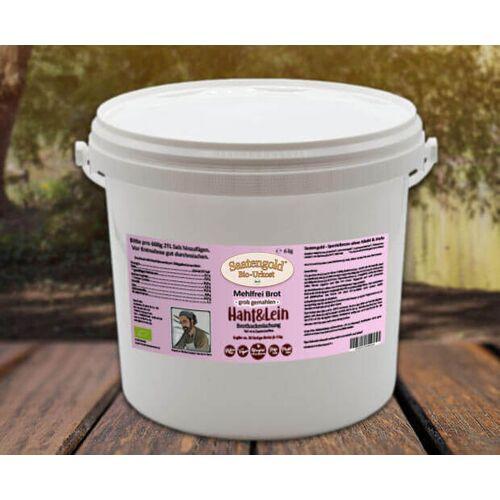 Cellavita Mehlfreibrot Hanf & Lein -grob gemahlen- Bio Brotbackmischung 6 kg Eimer