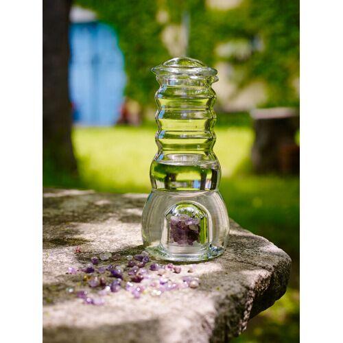 Cellavita Cadus Krug/Karaffe 1 Liter mit Edelsteinen & Glasdeckel