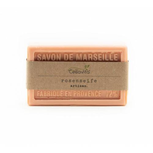 "Cellavita Natur-Seife Rose ""Savon de Marseille"" 100g (Kernseife)"